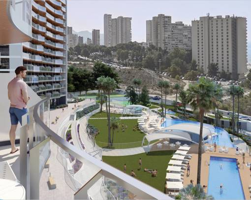 Apartment / Flat - New Build - Benidorm - Benidorm