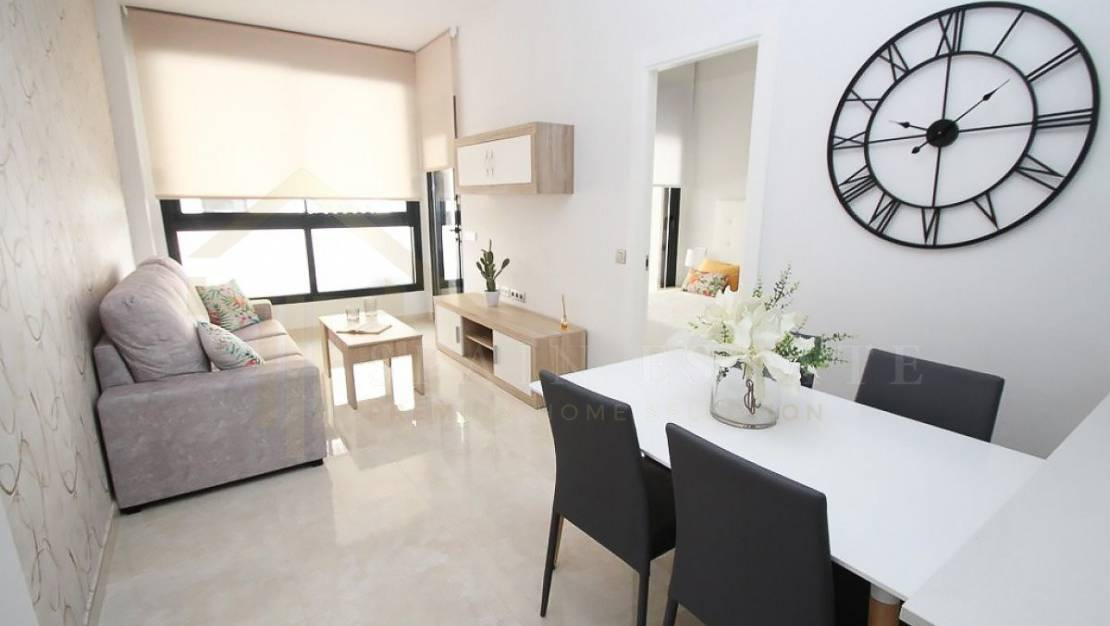 Apartment in Torrevieja with furniture.