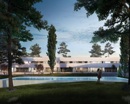 Бунгало - New Build - Torrevieja - Lago jardin