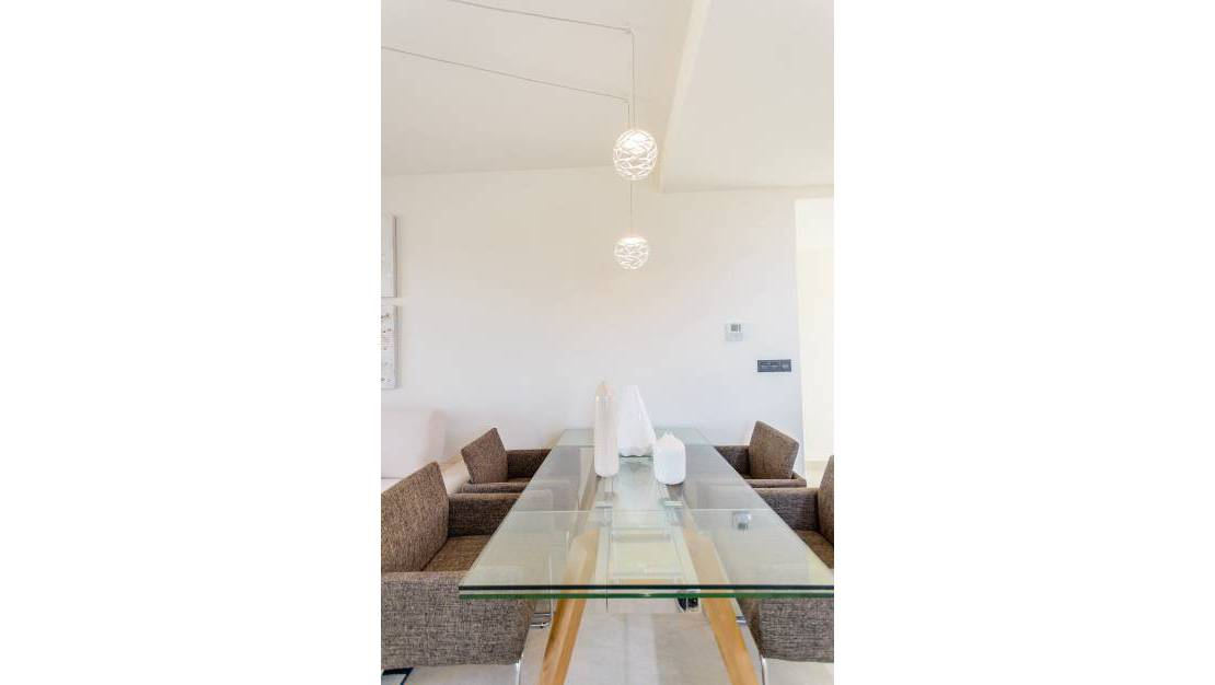 dinning room. Apartments For Sale in Los Balcones of Torrevieja