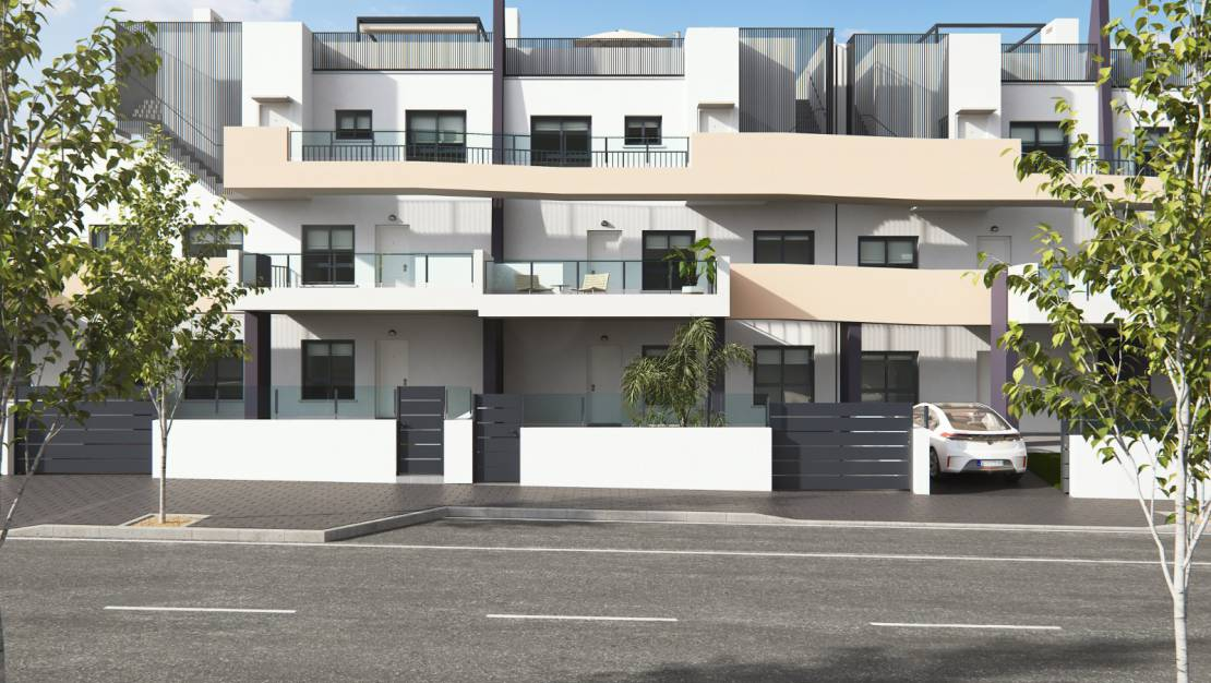 Exterior entrance | Real Estate in Torrevieja - Orihuela Costa