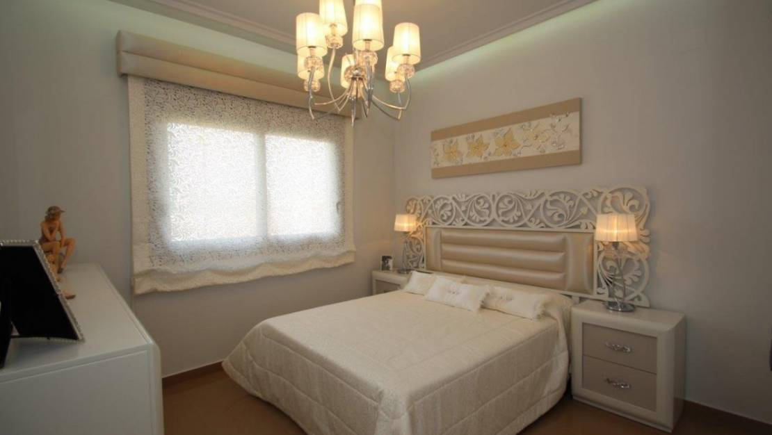 House in San Miguel de Salinas with private pool. - Bedroom 1.