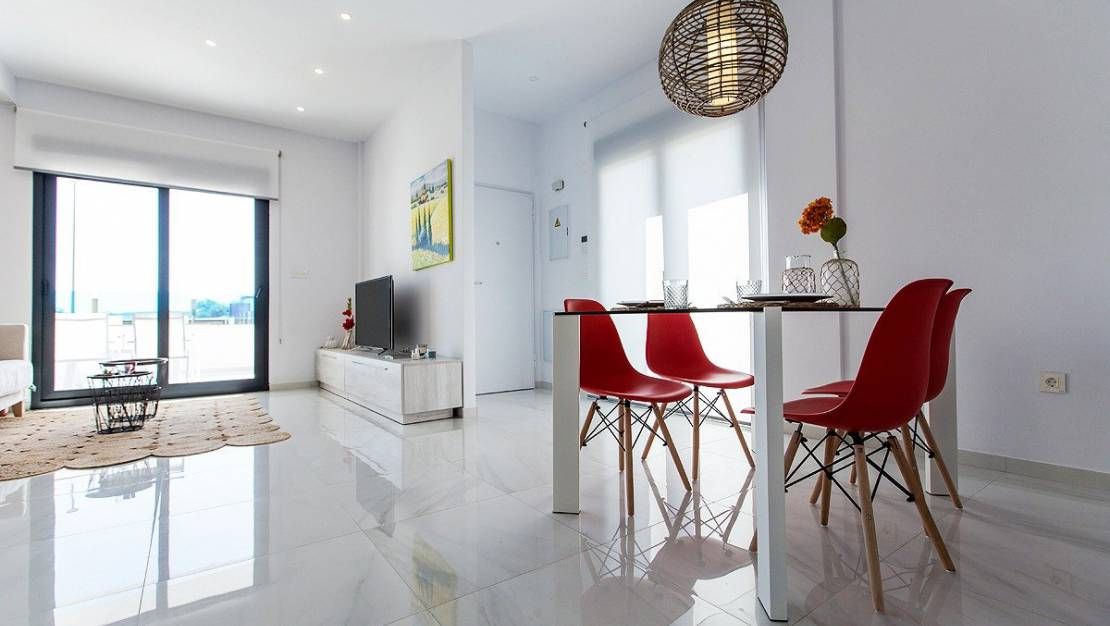Interior of the house | New build villa for sale in Costa Blanca South