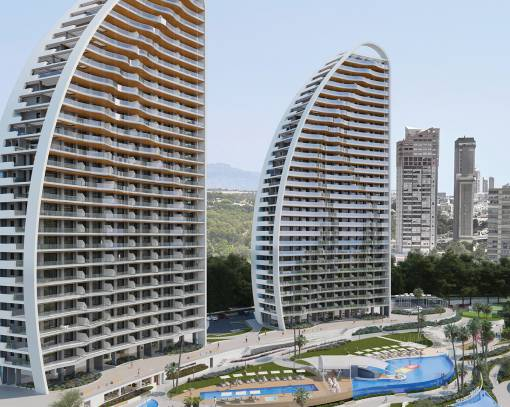 Квартира / Квартира - New Build - Benidorm - Zona de Poniente