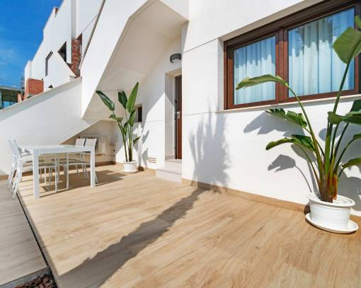 Квартира / Квартира - New Build - Torrevieja - Los balcones