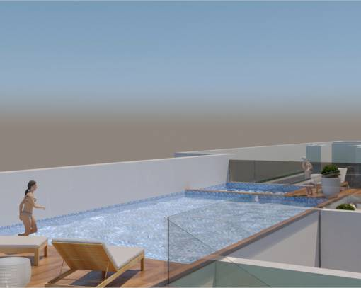 Квартира / Квартира - New Build - Torrevieja - Playa del Cura