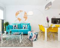 Living room | New construction townhouses for sale in Villamartin - Orihuela Costa