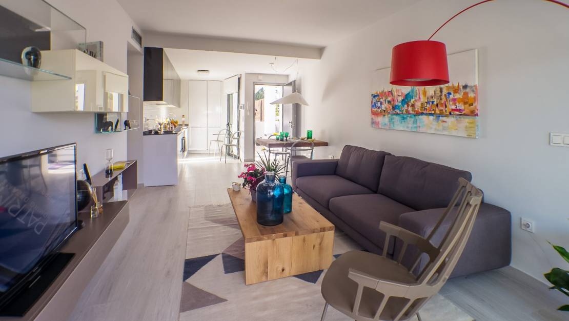 Lounge | Ground floor apartment for sale in Villamartin
