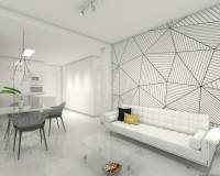 Lounge | New construction apartments for sale in Mil Palmeras