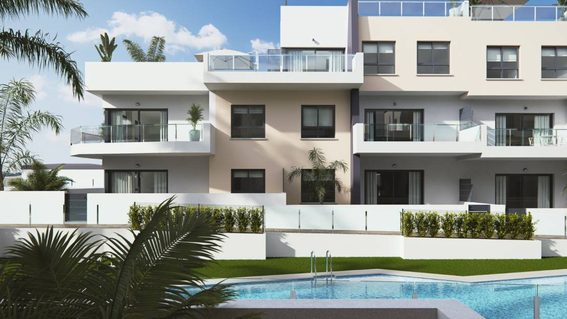New Build - Apartment / Flat - Cabo Roig - Mill Palmeras