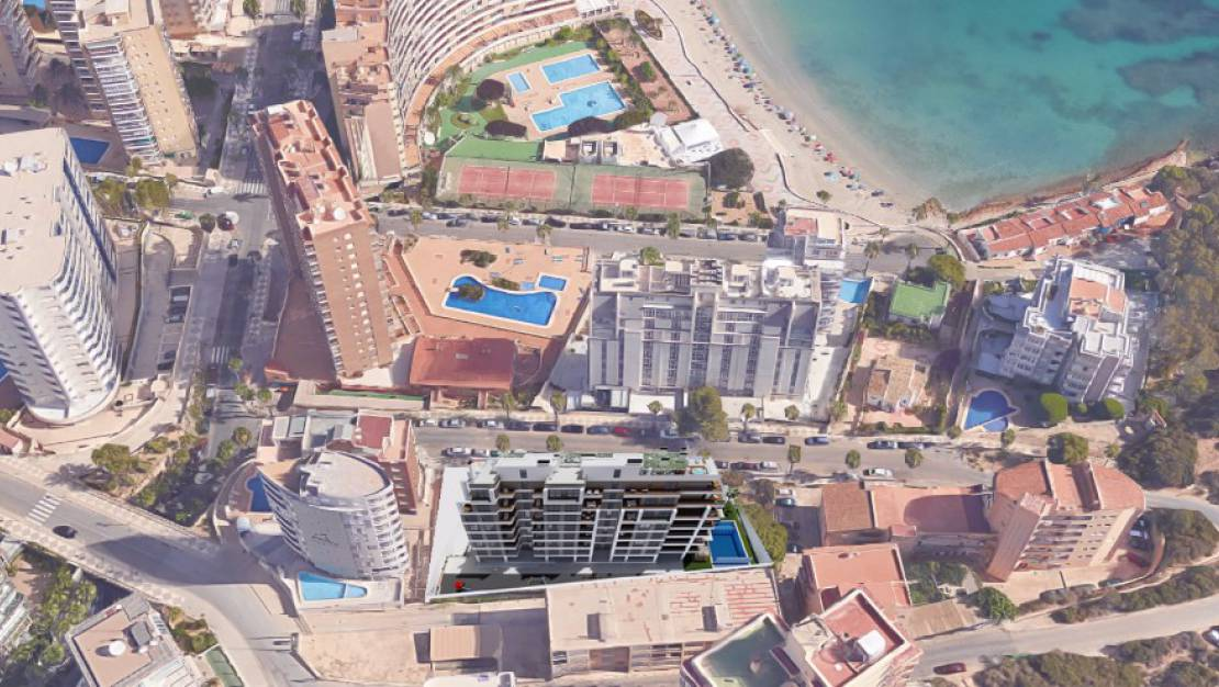 New Build - Apartment / Flat - Calpe - Ifach