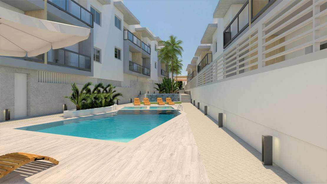 Pool | New Build Ground floor with garden in Benijófar