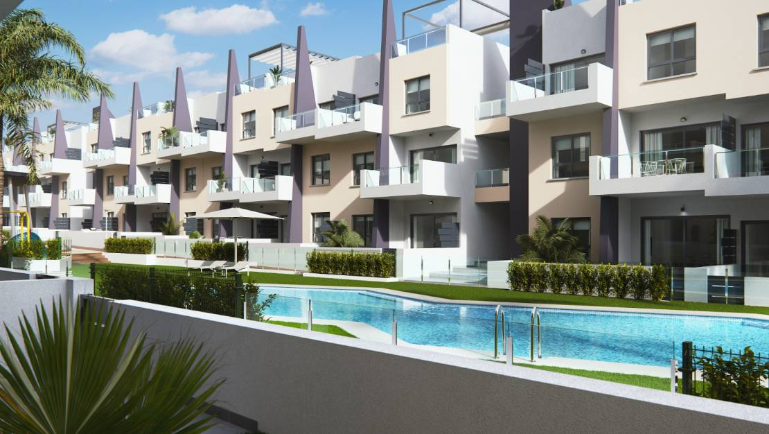 Residential Complex | Apartments with solarium for sale in Mil Palmeras