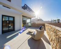 Terrace | Ground floor apartments with garden for sale in Villamartin - Orihuela Costa