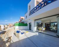 Terrace | New build apartment with large terrace for sale in Villamartin