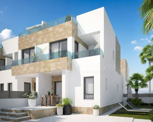 Terraced house - New Build - San Miguel de Salinas - Villamartín