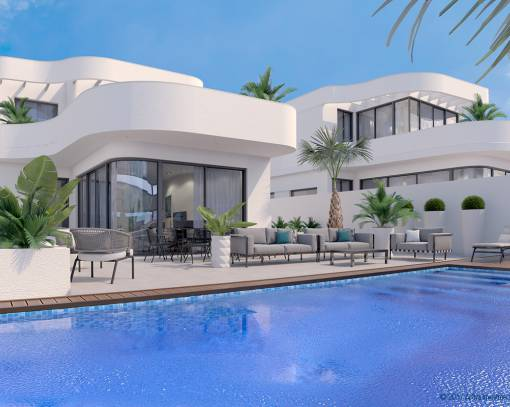 Вилла - New Build - Elche Pedanías - La Marina