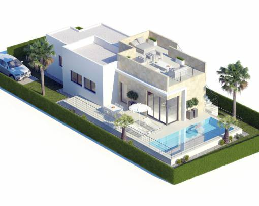 Вилла - New Build - Finestrat - Finestrat Urbanizaciones