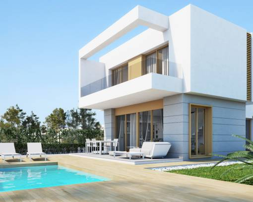 Вилла - New Build - Orihuela Costa - Campo de golf