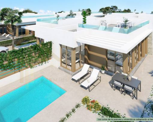 Villa - New Build - Pilar de la Horadada - Centro