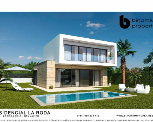 Villa - New Build - San Javier - Los Alcázares